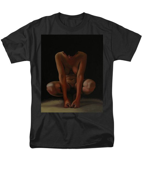Men's T-Shirt  (Regular Fit) featuring the painting 9 Am by Thu Nguyen