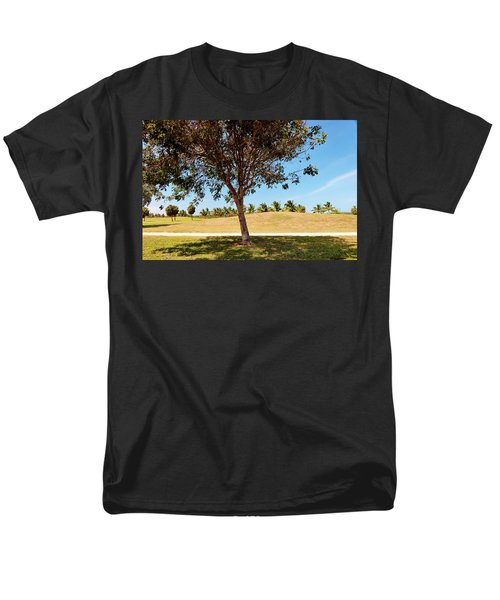 Men's T-Shirt  (Regular Fit) featuring the photograph 96 Degrees In Da Shade by Amar Sheow