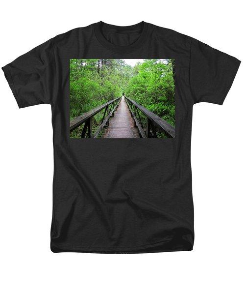 A Bridge To Somewhere Men's T-Shirt  (Regular Fit) by MTBobbins Photography