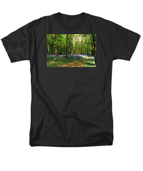 Men's T-Shirt  (Regular Fit) featuring the photograph A Carpet Of Colour by Wendy Wilton