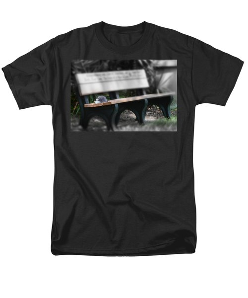 Men's T-Shirt  (Regular Fit) featuring the photograph A Child Somewhere In My Dreams by DigiArt Diaries by Vicky B Fuller