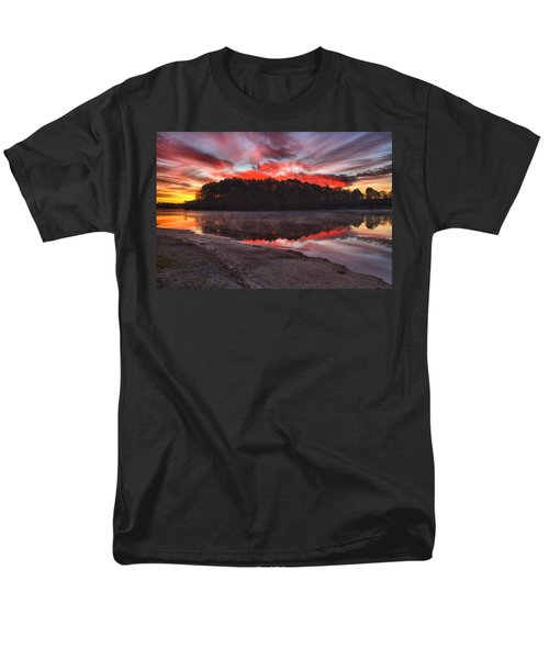 A Christmas Eve Sunrise Men's T-Shirt  (Regular Fit) by Gordon Elwell