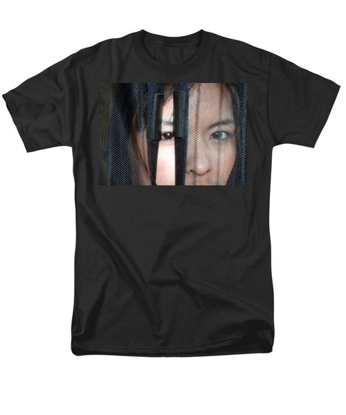 Men's T-Shirt  (Regular Fit) featuring the photograph A Closer Look by Ester  Rogers