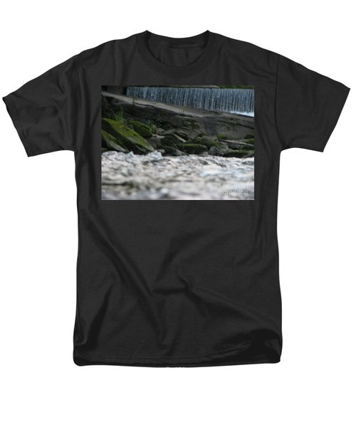 Men's T-Shirt  (Regular Fit) featuring the photograph A Day At The River by Michael Krek