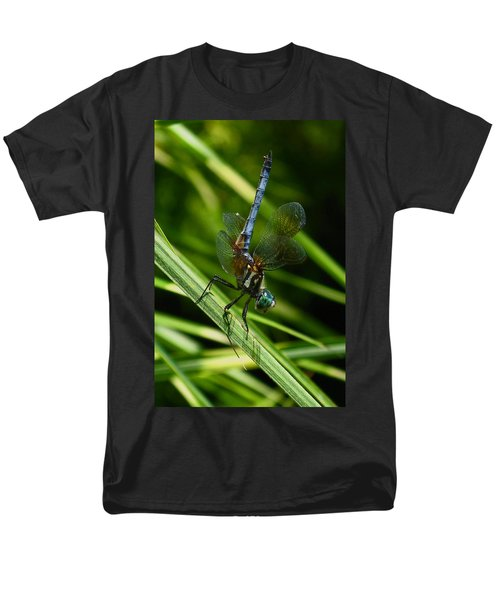 Men's T-Shirt  (Regular Fit) featuring the photograph A Dragonfly by Raymond Salani III