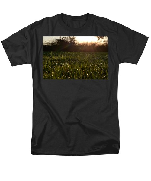 A Field Of Jewels Men's T-Shirt  (Regular Fit) by Melanie Moraga