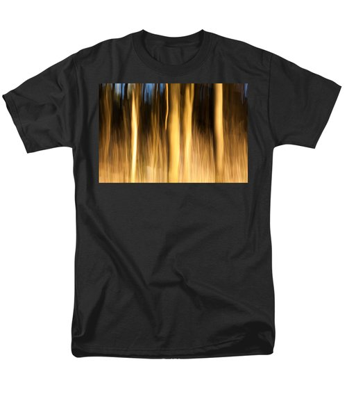 Men's T-Shirt  (Regular Fit) featuring the photograph A Fiery Forest by Davorin Mance