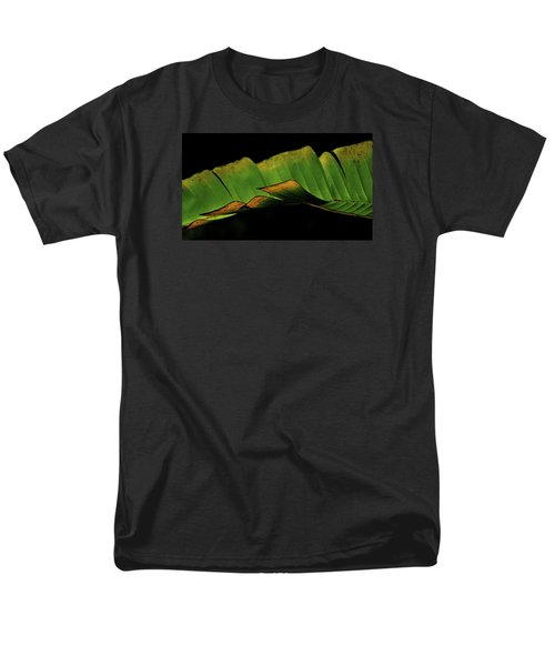 A Floating Heliconia Leaf Men's T-Shirt  (Regular Fit) by Lehua Pekelo-Stearns