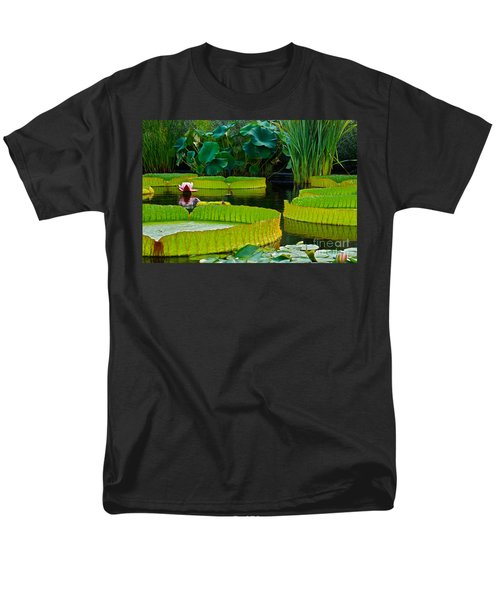 A Garden In Gentle Waters Men's T-Shirt  (Regular Fit) by Byron Varvarigos