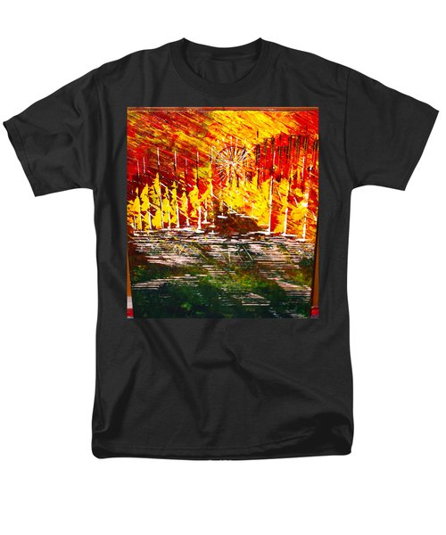 A Hot Summer Day.- Sold Men's T-Shirt  (Regular Fit) by George Riney