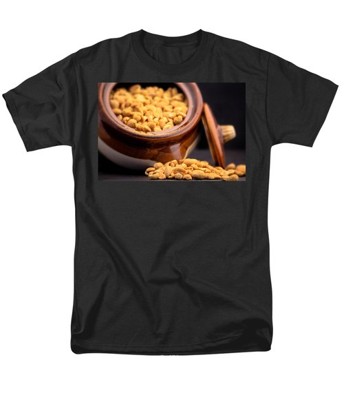 Men's T-Shirt  (Regular Fit) featuring the photograph A Jar Of Peanuts by Ester  Rogers