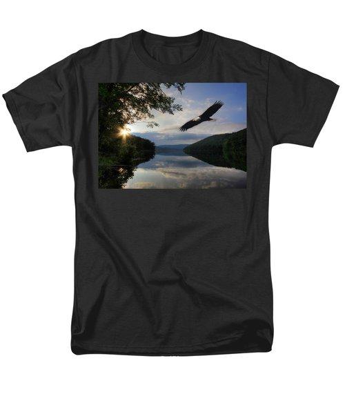 A New Beginning Men's T-Shirt  (Regular Fit) by Lori Deiter