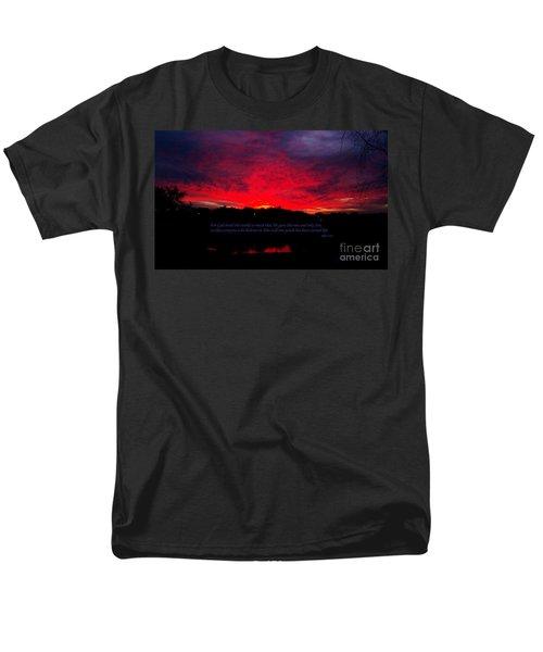 A New Day Men's T-Shirt  (Regular Fit) by Robert ONeil