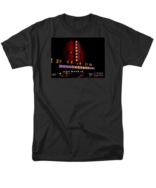 A Night At The Pageant Men's T-Shirt  (Regular Fit) by Kelly Awad