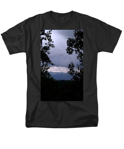 Men's T-Shirt  (Regular Fit) featuring the photograph A Peek At Heaven by Fortunate Findings Shirley Dickerson
