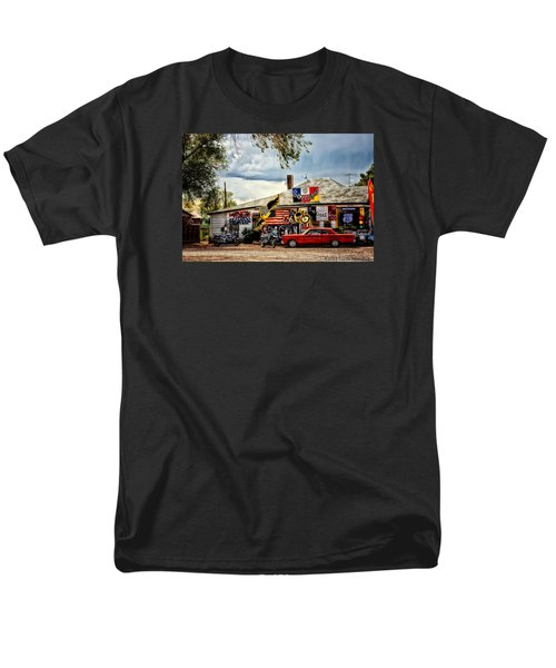 A Ride On Route 66 Men's T-Shirt  (Regular Fit) by Tricia Marchlik