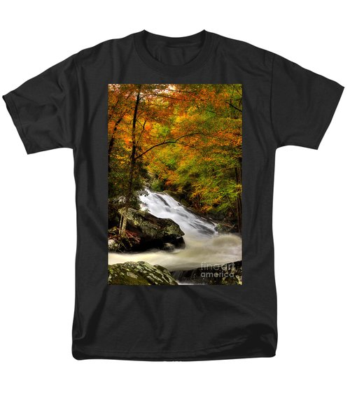 A River Runs Through It Men's T-Shirt  (Regular Fit) by Michael Eingle