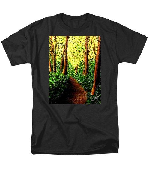 A Spiritual Awakening Men's T-Shirt  (Regular Fit) by Hazel Holland