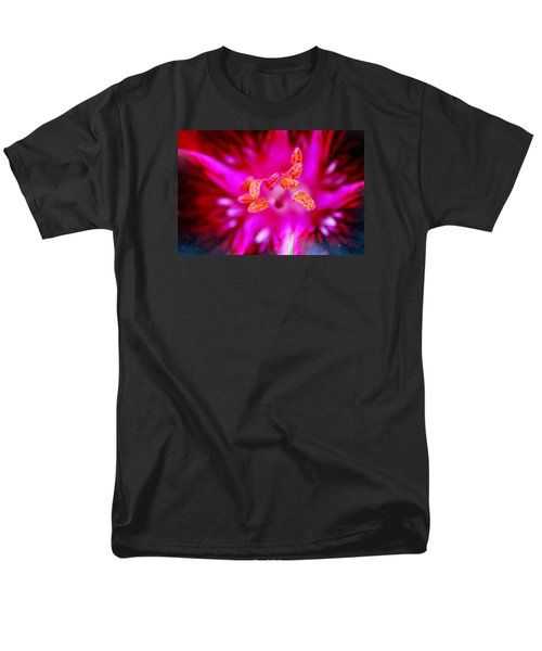 Men's T-Shirt  (Regular Fit) featuring the photograph A Splash Of Colour by Wendy Wilton