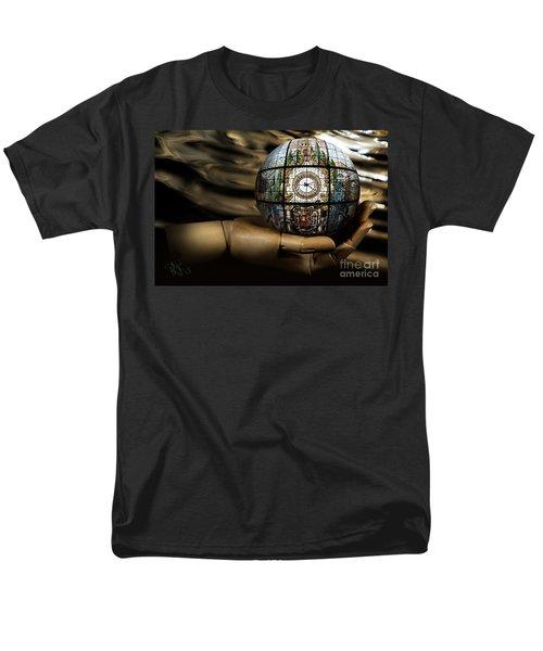 A Times Droplet Meditation Men's T-Shirt  (Regular Fit) by Rosa Cobos