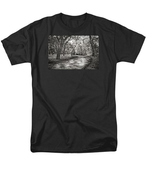 Men's T-Shirt  (Regular Fit) featuring the photograph A Walk In The Park by Darryl Dalton