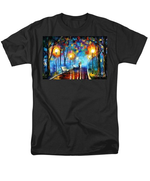 A Walk In The Park Men's T-Shirt  (Regular Fit) by Tim Gilliland