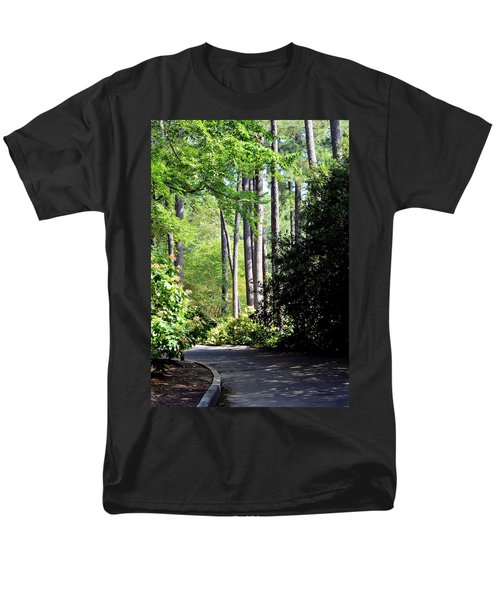 A Walk In The Shade Men's T-Shirt  (Regular Fit) by Maria Urso