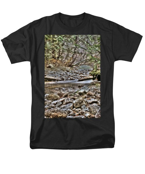 A Walk In The Woods Men's T-Shirt  (Regular Fit) by Loni Collins
