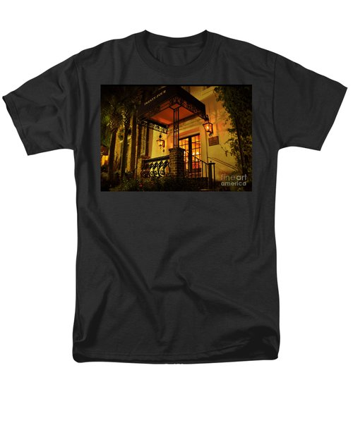 Men's T-Shirt  (Regular Fit) featuring the photograph A Warm Summer Night In Charleston by Kathy Baccari