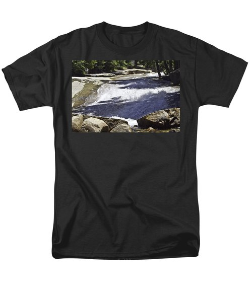 Men's T-Shirt  (Regular Fit) featuring the photograph A Water Slide by Brian Williamson