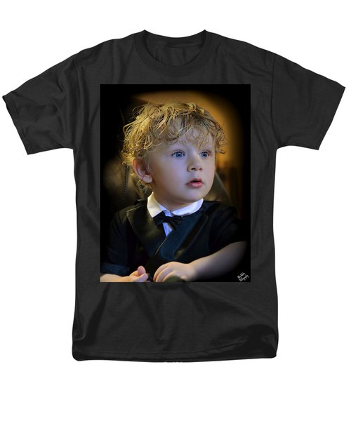 Men's T-Shirt  (Regular Fit) featuring the photograph A Young Gentleman by Ally  White