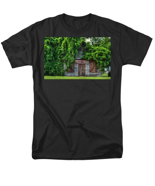 Men's T-Shirt  (Regular Fit) featuring the photograph Abandoned by Kathy Baccari
