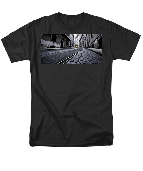 Abandoned Way Men's T-Shirt  (Regular Fit) by Jorge Maia