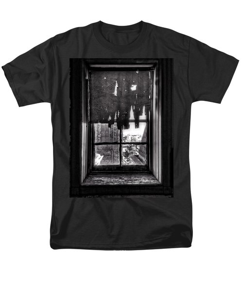 Abandoned Window Men's T-Shirt  (Regular Fit) by H James Hoff
