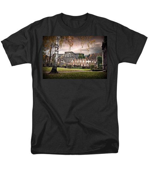 abbey ruins Villers la ville Belgium Men's T-Shirt  (Regular Fit) by Dirk Ercken