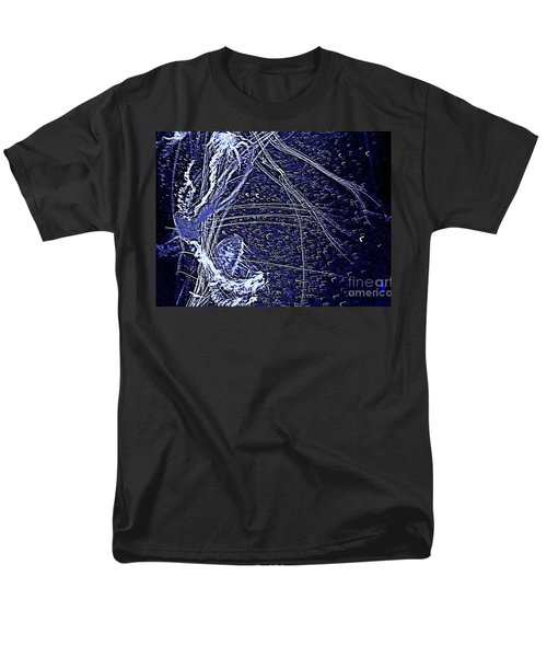 Men's T-Shirt  (Regular Fit) featuring the photograph Aberration Of Jelly Fish In Rhapsody Series 3 by Antonia Citrino