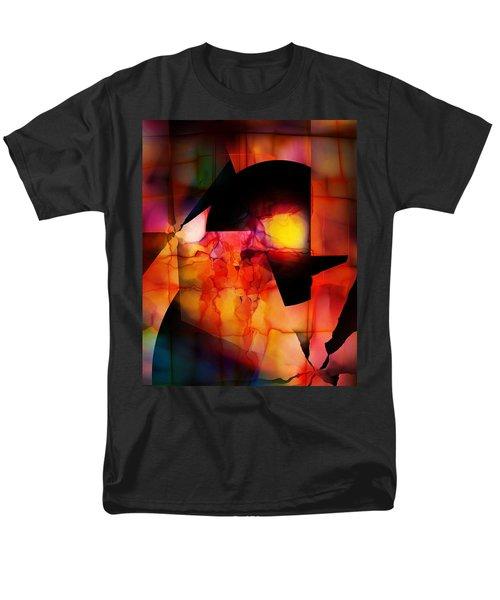Abstract 012615 Men's T-Shirt  (Regular Fit) by David Lane
