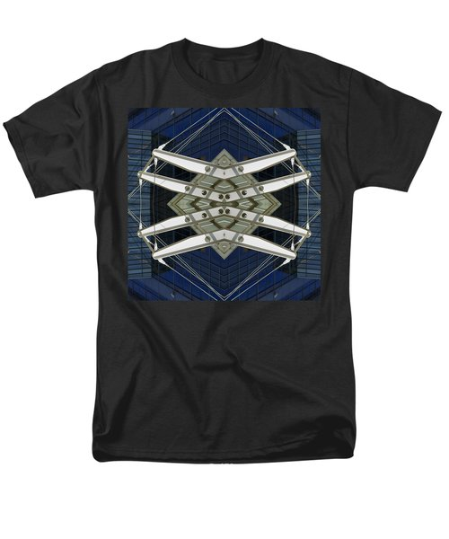 Abstract Construction Men's T-Shirt  (Regular Fit) by Rick Mosher