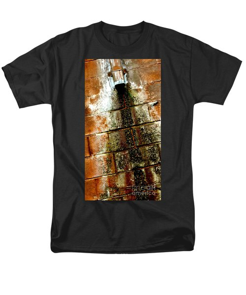Men's T-Shirt  (Regular Fit) featuring the photograph Acid Rain by Christiane Hellner-OBrien