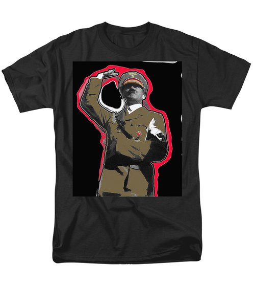 Adolf Hitler Saluting 2 Circa 1933-2009 Men's T-Shirt  (Regular Fit) by David Lee Guss