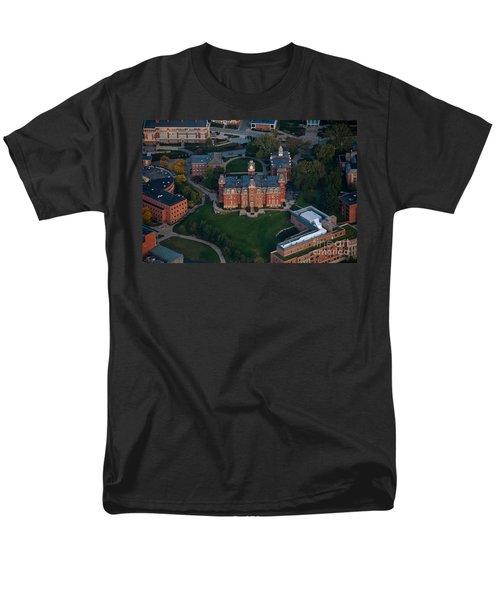 Aerial Of Woodburn Hall Men's T-Shirt  (Regular Fit) by Dan Friend