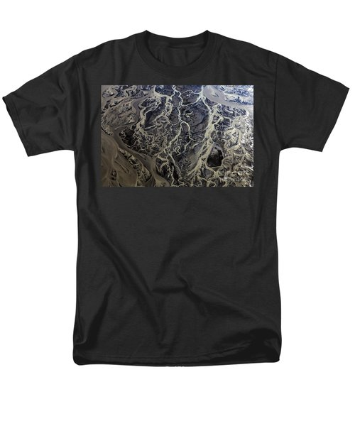 Men's T-Shirt  (Regular Fit) featuring the photograph Aerial Photography by Gunnar Orn Arnason