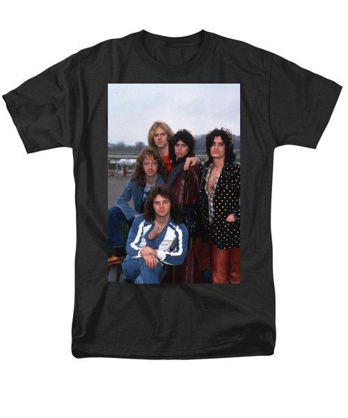 Aerosmith - Terre Haute 1977 Men's T-Shirt  (Regular Fit) by Epic Rights