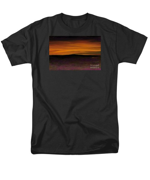 Men's T-Shirt  (Regular Fit) featuring the painting African Sky by Rand Herron