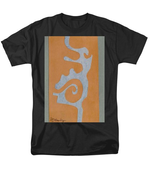 Swirl  Men's T-Shirt  (Regular Fit) by Patricia Cleasby