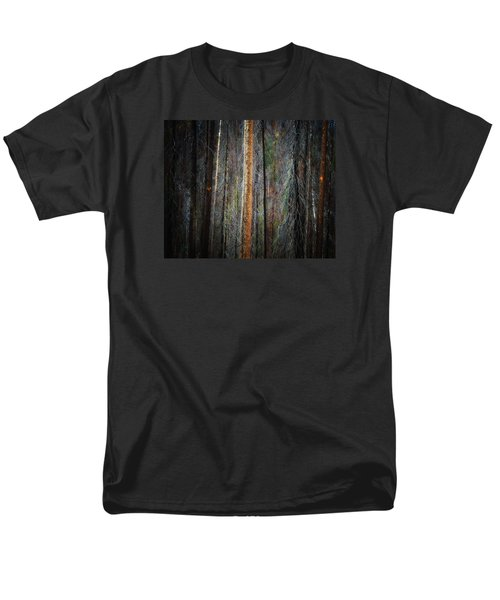 Men's T-Shirt  (Regular Fit) featuring the photograph After The Burn 3 by Newel Hunter