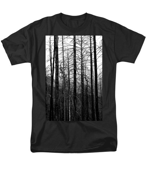 After The Fire Men's T-Shirt  (Regular Fit) by Joe Kozlowski