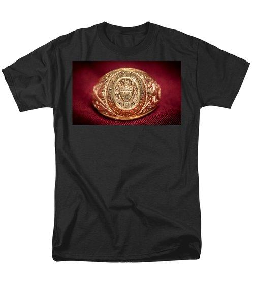 Aggie Ring Men's T-Shirt  (Regular Fit) by David Morefield