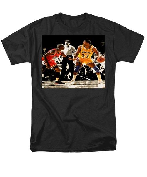 Air Jordan On Magic Men's T-Shirt  (Regular Fit) by Brian Reaves