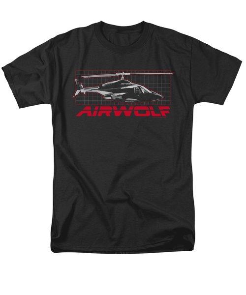 Airwolf - Grid Men's T-Shirt  (Regular Fit) by Brand A